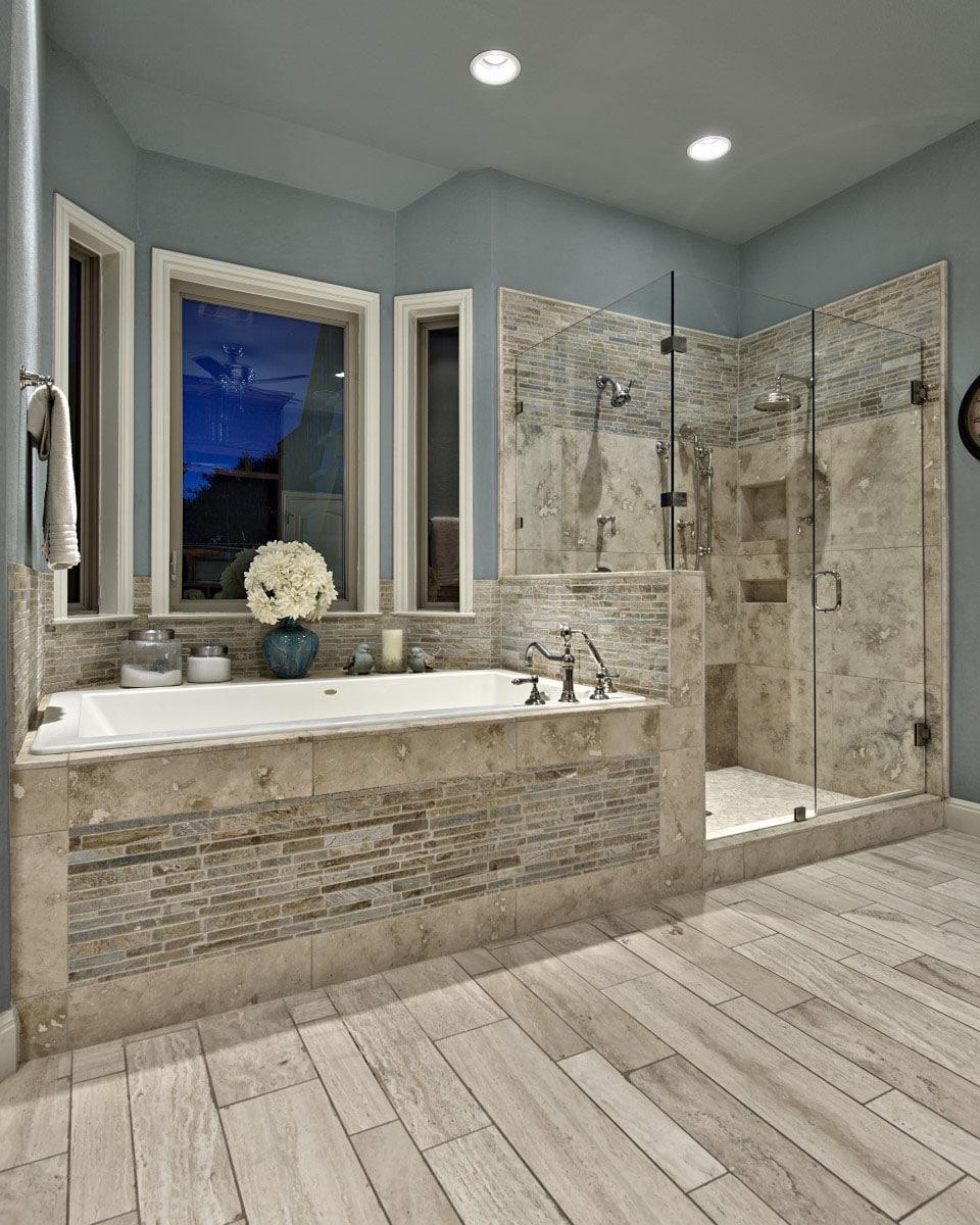 Custom Bathroom in Austin Texas - New Creations Custom Kitchen and Bath
