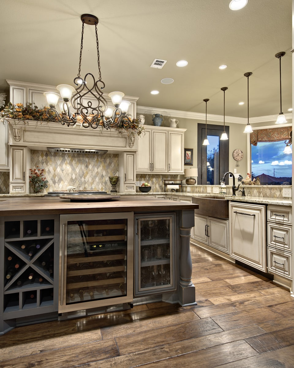 A New Look with a Custom Home Redesign